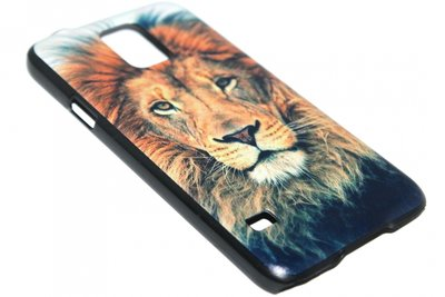 Leeuwen hoesje kunststof Samsung Galaxy S5 (Plus) / Neo