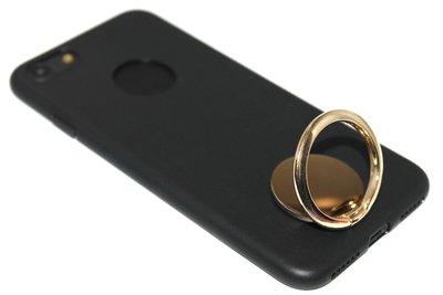 Gouden telefoonhouder met ring universeel
