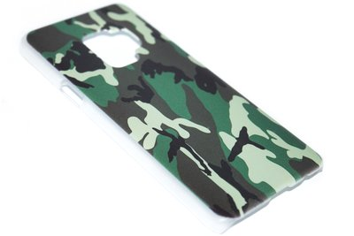 Camouflage hoesje kunststof Samsung Galaxy S9