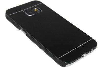 Aluminium hoesje zwart Samsung Galaxy S7 Edge