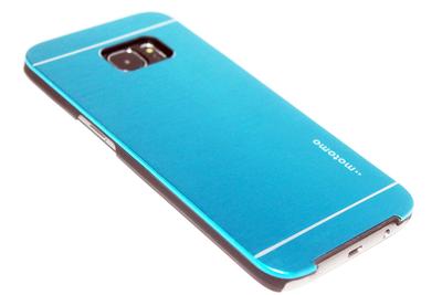 Aluminium hoesje blauw Samsung Galaxy S7 Edge