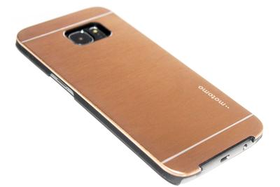 Aluminium hoesje goud Samsung Galaxy S7 Edge