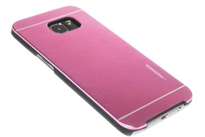 Aluminium hoesje paars Samsung Galaxy S7 Edge