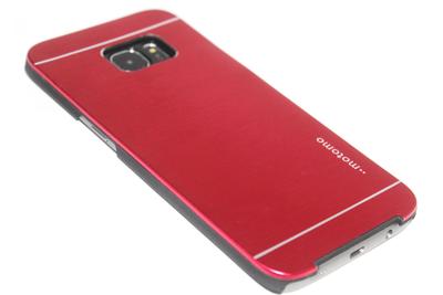 Aluminium hoesje rood Samsung Galaxy S7 Edge