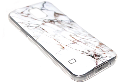 Marmer wit hoesje Samsung Galaxy S5 (Plus) / Neo
