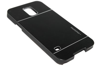 Aluminium hoesje zwart Samsung Galaxy S5 (Plus) / Neo
