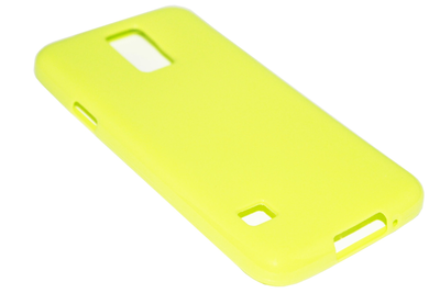Siliconen hoesje groen Samsung Galaxy S5 (Plus) / Neo