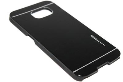 Aluminium hoesje zwart Samsung Galaxy S6 Edge