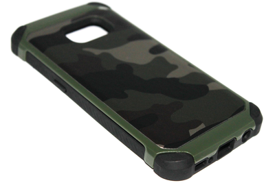 Camouflage hoesje kunststof Samsung Galaxy S7 Edge