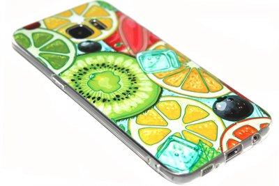 Fruitsoorten hoesje Samsung Galaxy S7 Edge