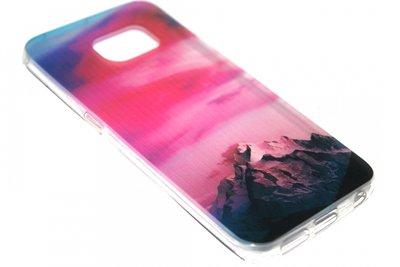 Bergen hoesje Samsung Galaxy S6 Edge