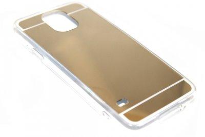 Spiegel hoesje goud Samsung Galaxy S5 (Plus) / Neo