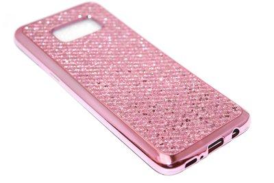 Bling bling hoesje roze Samsung Galaxy S8 Plus