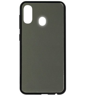 ADEL Siliconen Back Cover Softcase Hoesje voor Samsung Galaxy A40 - Spiegel