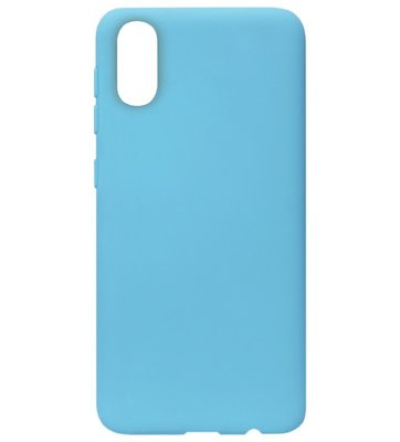 ADEL Siliconen Back Cover Softcase Hoesje voor Samsung Galaxy A70(s) - Blauw