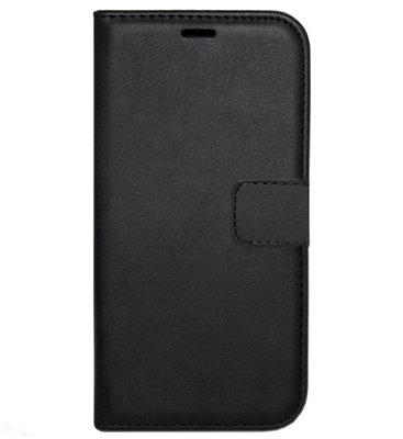 ADEL Kunstleren Book Case Portemonnee Pasjes Hoesje voor Samsung Galaxy A80/ A90 - Zwart