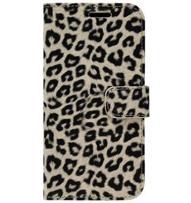ADEL Kunstleren Book Case Portemonnee Pasjes Hoesje voor iPhone 11 Pro - Luipaard