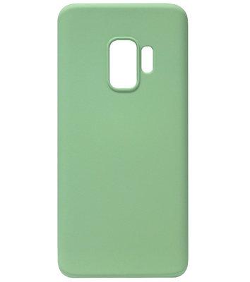 ADEL Premium Siliconen Back Cover Softcase Hoesje voor Samsung Galaxy S9 - Groen