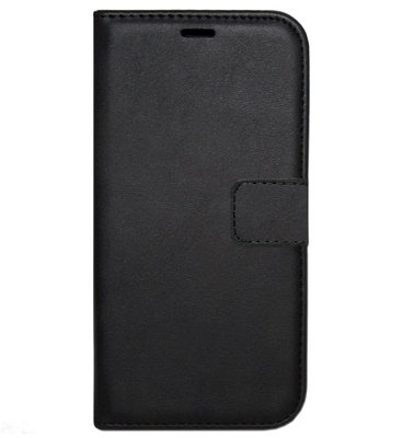 ADEL Kunstleren Book Case Portemonnee Pasjes Hoesje voor Samsung Galaxy S9 Plus - Zwart