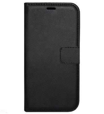 ADEL Kunstleren Book Case Portemonnee Pasjes Hoesje voor Samsung Galaxy S8 Plus - Zwart