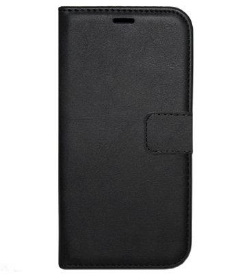 ADEL Kunstleren Book Case Portemonnee Pasjes Hoesje voor Samsung Galaxy S7 Edge - Zwart