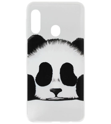 ADEL Siliconen Back Cover Softcase Hoesje voor Samsung Galaxy A20/ A30 - Panda