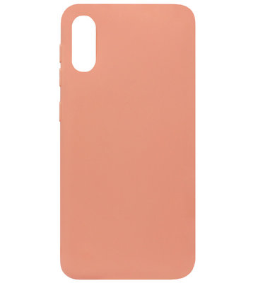 ADEL Siliconen Back Cover Softcase Hoesje voor Samsung Galaxy A70(s) - Oranje