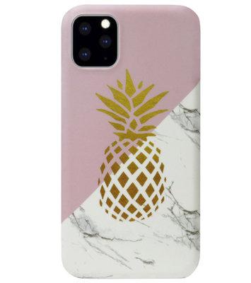 ADEL Kunststof Back Cover Hardcase Hoesje voor iPhone 11 - Ananas