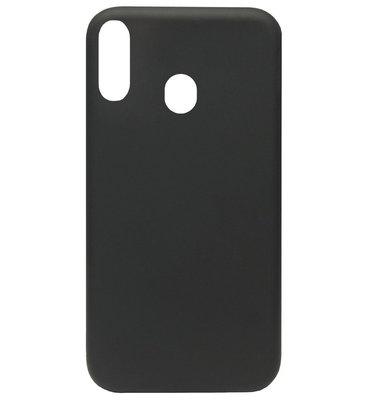 ADEL Premium Siliconen Back Cover Softcase Hoesje voor Samsung Galaxy A40 - Zwart