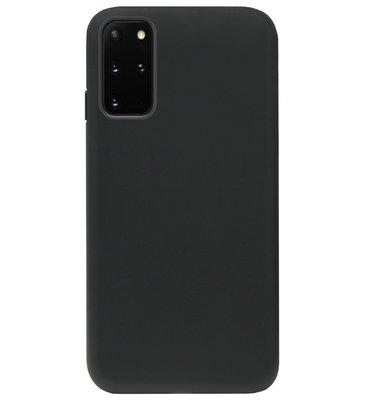 ADEL Tarwe Stro TPU Back Cover Softcase Hoesje voor Samsung Galaxy S20 Ultra - Duurzaam afbreekbaar Milieuvriendelijk Zwart