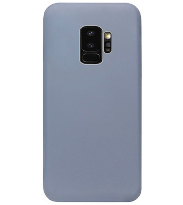 ADEL Premium Siliconen Back Cover Softcase Hoesje voor Samsung Galaxy S9 Plus - Lavendel Blauw