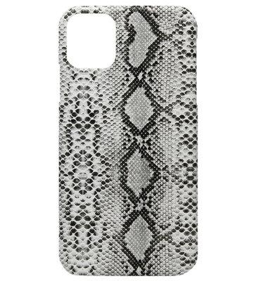 ADEL Kunststof Back Cover Hardcase hoesje voor iPhone 11 - Slangen Wit
