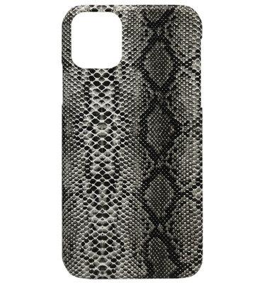 ADEL Kunststof Back Cover Hardcase hoesje voor iPhone 11 Pro - Slangen Zwart