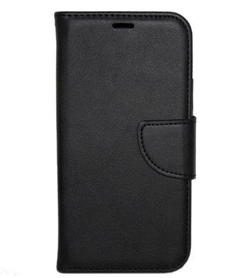 ADEL Kunstleren Book Case hoesje voor iPhone 11 - Zwart