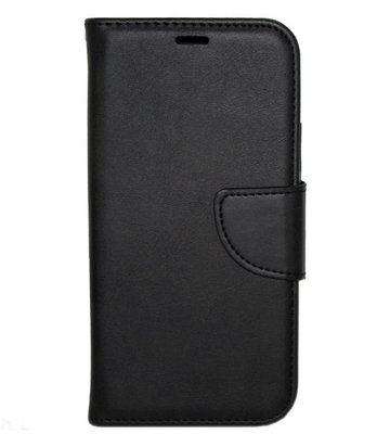 ADEL Kunstleren Book Case hoesje voor iPhone 11 Pro Max - Zwart