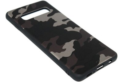 Bruine camouflage back cover Samsung Galaxy s10
