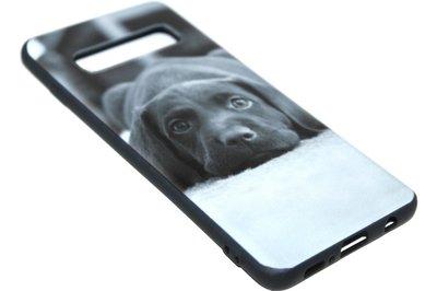 Honden Labrador hoesje Samsung Galaxy S10