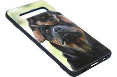 Honden Rottweiler hoesje Samsung Galaxy S10