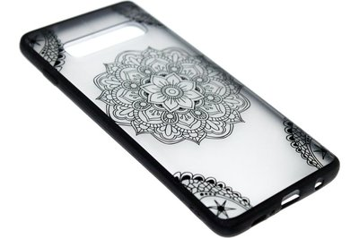 Mandala kunststof hoesje Samsung Galaxy S10