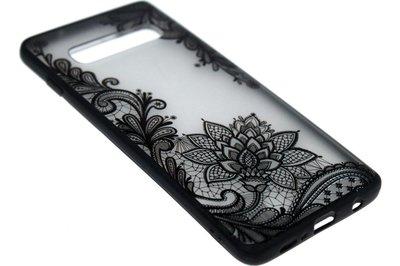 Mandala bloemen hoesje Samsung Galaxy S10