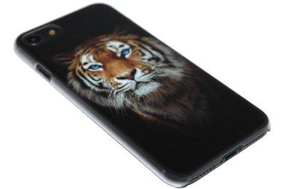 ADEL Kunststof Back Cover Hoesje voor iPhone SE (2020)/ 8/ 7 - Tijger