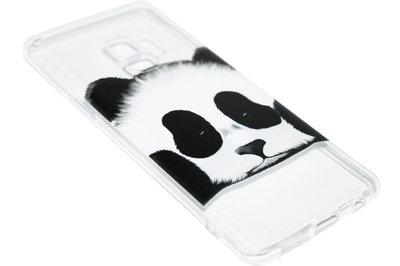 ADEL Siliconen Back Cover Hoesje voor Samsung Galaxy S9 - Panda