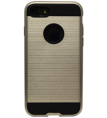 ADEL Aluminium Back Cover Hoesje voor iPhone SE (2020)/ 8/ 7 - Goud