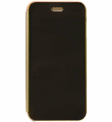 ADEL Aluminium Book Case Hoesje voor Samsung Galaxy J7 (2015) - Goud