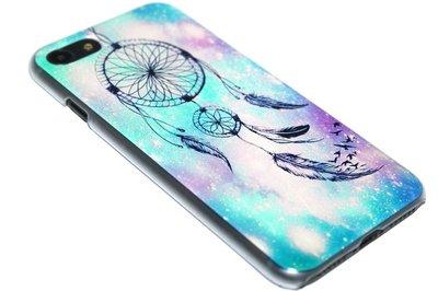 ADEL Siliconen Back Cover Softcase Hoesje iPhone SE (2020)/ 8/ 7 - Dromenvanger Blauw