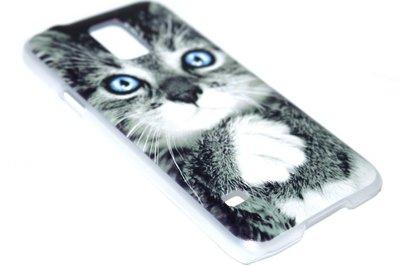 Poezen hoesje kunststof Samsung Galaxy S5 (Plus) / Neo