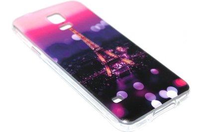 Parijs Eiffeltoren hoesje siliconen Samsung Galaxy S5 (Plus) / Neo