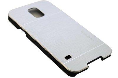 Aluminium hoesje zilver Samsung Galaxy S5 (Plus) / Neo