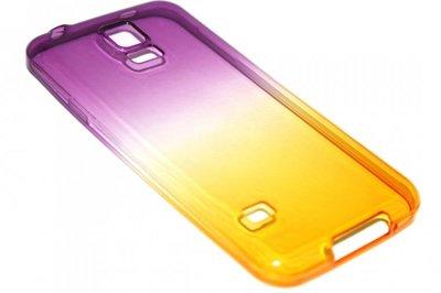 Siliconen hoesje paarsgeel Samsung Galaxy S5 (Plus) / Neo