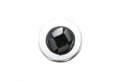 Zilvere magneet telefoonhouder universeel